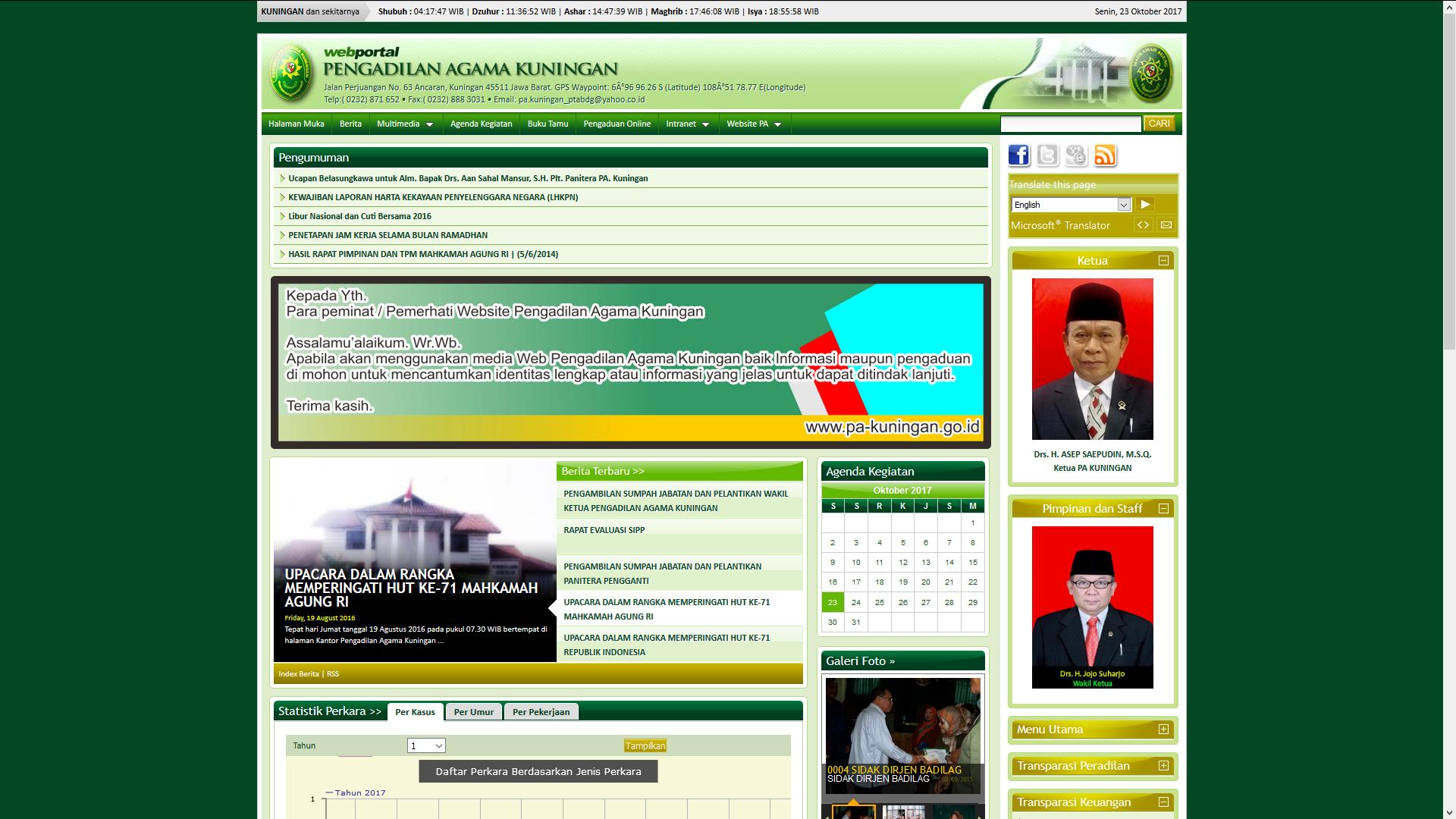 Web Versi Lama